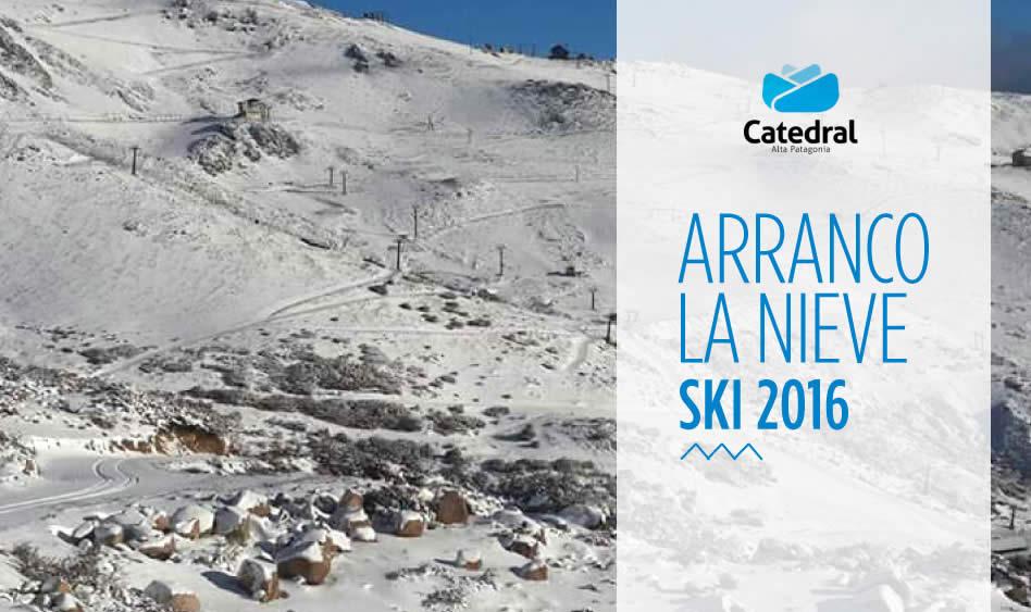 Preventa Cerro Catedral 2016