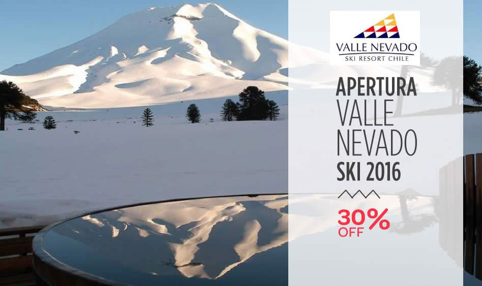 Valle Nevado 30% Off