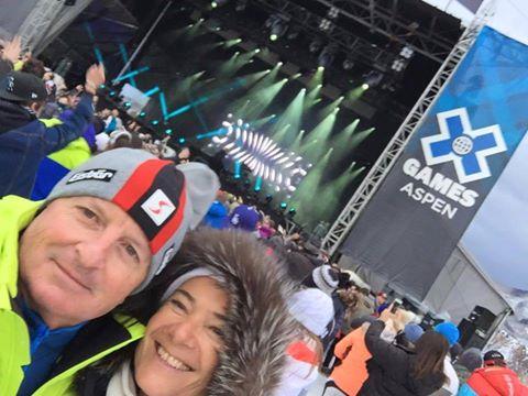 Maria Alejandra, clienta de OTE SKI nos envía algunas fotos desde sus vacaciones…