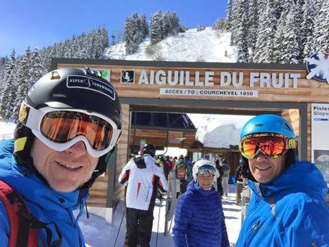 OTE SKI esta en Courchevel Officiel disfrutando del mejor esquí del mundo con un…