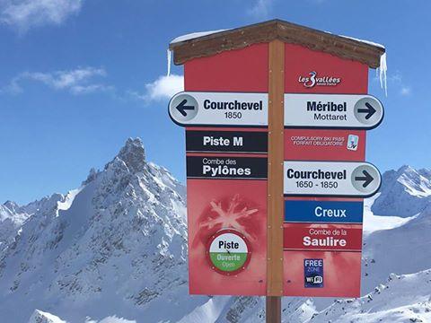 OTE SKI sigue testeando la mejor nieve del mundo en Courchevel Officiel! Un para…