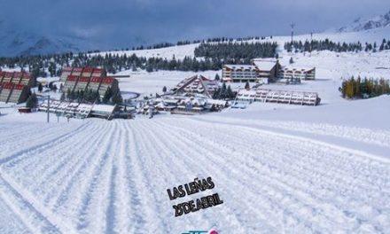 Se viene una temporada alucinante en Las Leñas Ski Resort!!! Hoy el Valle esta c…