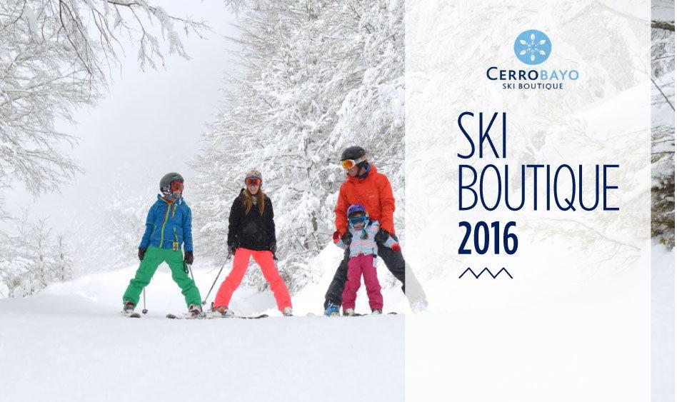 Cerro Bayo Ski Boutique 2016