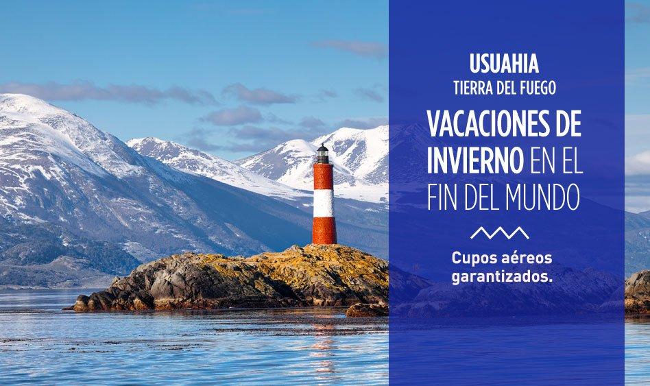 Ushuahia. Vacaciones de invierno en el fin del mundo.