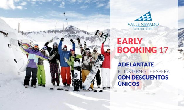 EARLY BOOKING 2017 – Valle Nevado