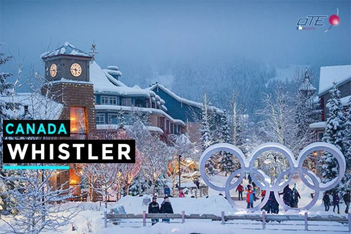 WHISTLER BLACKCOMB (Canadá) Ubicado en las espectaculares Montañas Costeras, a t…