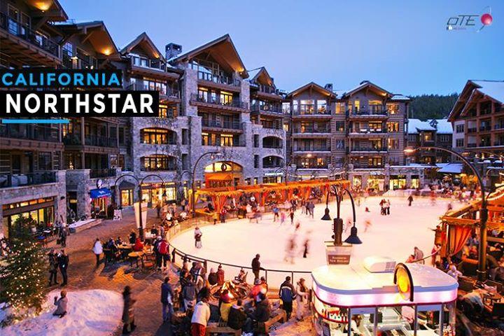 Northstar (California) Esquiar con una vista asombrosa hacia el Lago Tahoe, rode…