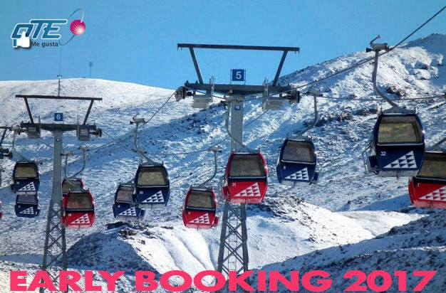 VALLE NEVADO️ // EARLY BOOKING 2017️ 20% OFF en Departamentos 35% OFF en Hoteles…
