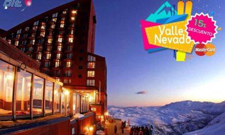 Pagá con  #Mastercard y obtené un 15% de descuento en  #ValleNevado!!! Promoció…