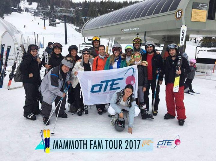 .::OTE SKI – MAMMOTH MOUNTAIN 2017::.  El primer viaje de familiarización del tu…