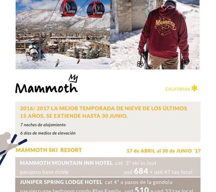Mammoth Mountain temporada baja!!!! Temporada histórica con muchísima nieve, y l…