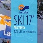 Las Leñas Pre Venta 2017 – 40% Off