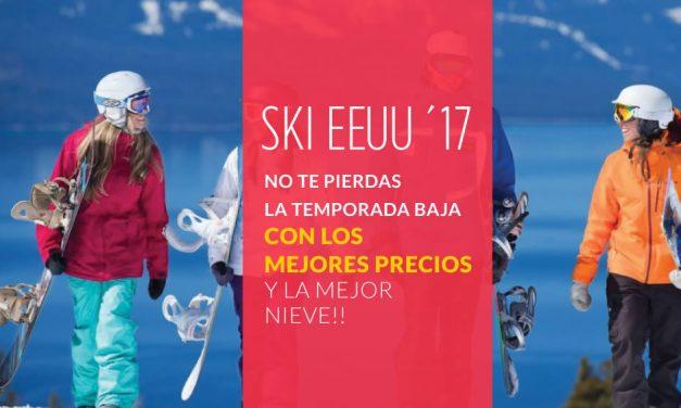 Ski EEUU Temporada Baja 2017