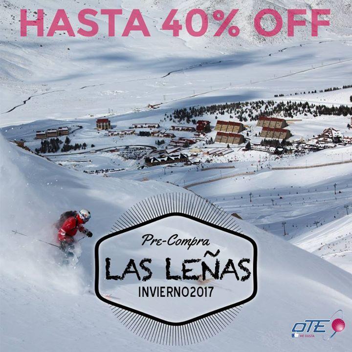 LAS LEÑAS – PRE VENTA hasta 40% OFF Reservá tus vacaciones en el Valle de Las Le…