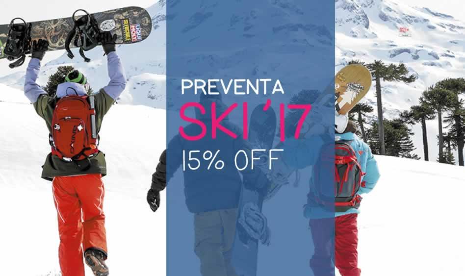 Corralco – Preventa Ski 2017 – 15% off