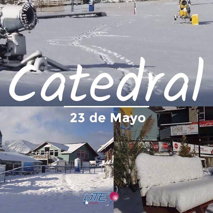 Cerro Catedral ya esta así de nevado!!!!!⠀ El histórico centro de esquí se prep…