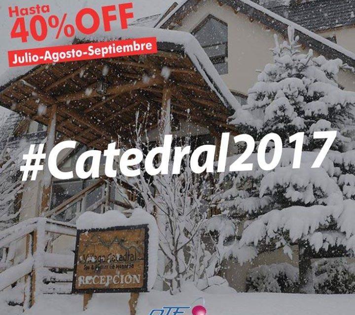 #Catedral2017  #Apertura  #Bariloche  Aprovechá esta increíble promoción en Vil…