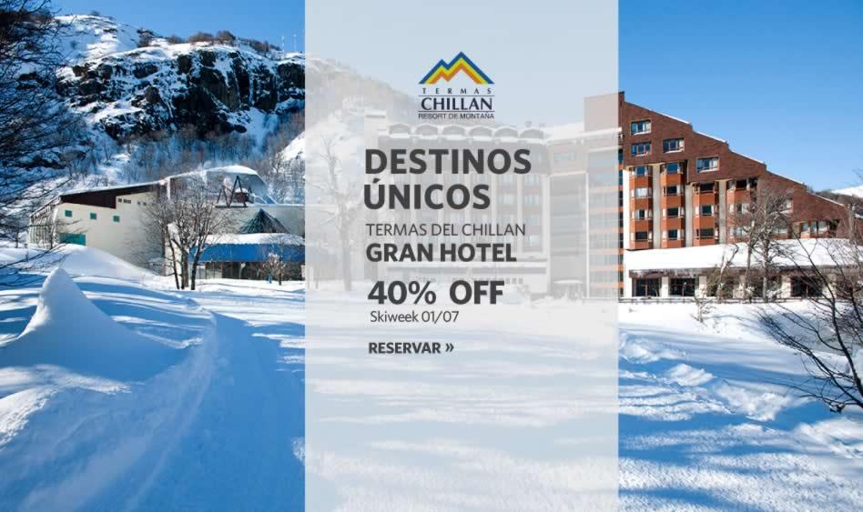 Termas del Chillán, 40% OFF