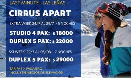 Escapate a  #LasLeñas esta semana con el  #Lastminute de  #OTESKI