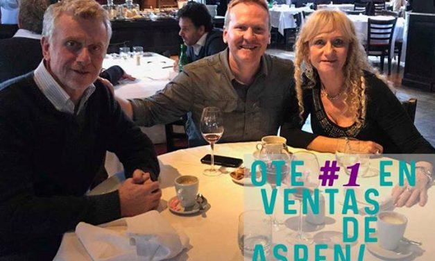 OTE SKI nuevamente 1⃣ en ventas de Aspen Snowmass Nos visitó en Argentina Ian D…