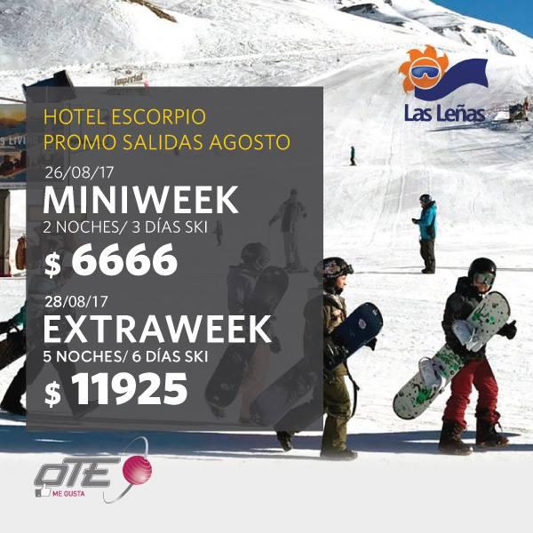 Muchísima nieve en  #lasleñas ⠀ y vos las podes disfrutar en  #HotelEscorpio con…