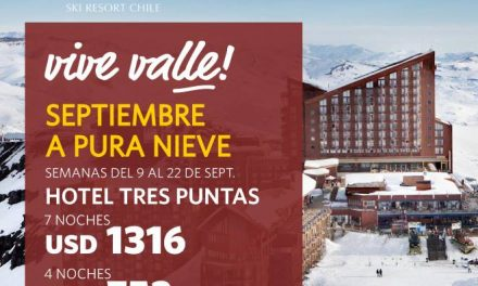 Viví septiembre a pura nieve en Valle Nevado!  Aprovechá las mejores tarifas de …