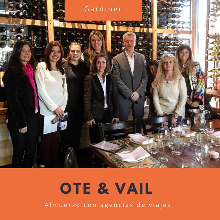 OTE Travel organizó este mediodía un almuerzo con agencias de viaje y el prestig…