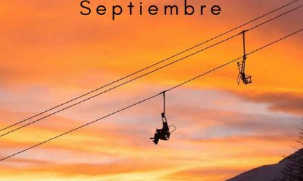 #CerroCastor  #Septiembre ⠀ Con 28cms en la base y 140 en la cumbre, Cerro Cast…