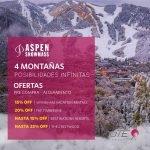 Date el gusto de esquiar en Aspen Snowmass a precios promocionales aprovechando …
