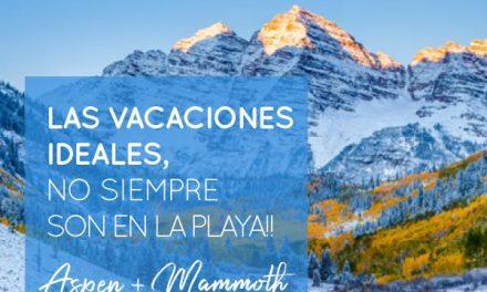 #Aspen  #Mammoth  #2018 ⠀ Aprovechá las mejores tarifas para esquiar en Estados…