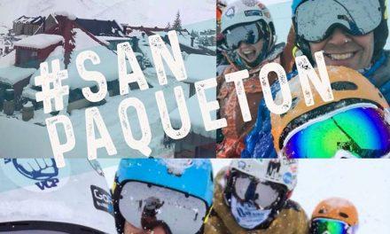 ..y de tanto rezarle a San Paquetón…  #lasleñas recibió su enorme nevada!!!! ⠀…