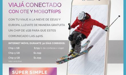 Viajá conectado con OTE SKI y  #mobotrip ⠀ Con tu viaje a la nieve de EEUU y Eur…