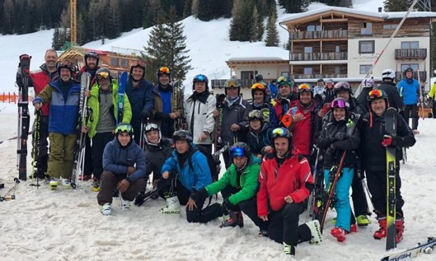 #HOY Cortina D'Ampezzo 🇮🇹- Nuestros amigos de Skibaires, nuevamente con el ases…