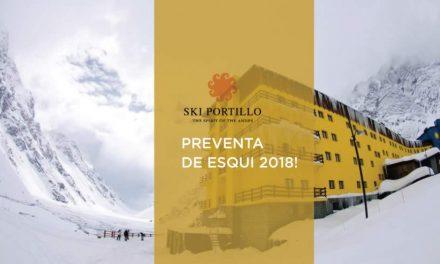 Ski Portillo. Preventa Ski 2018