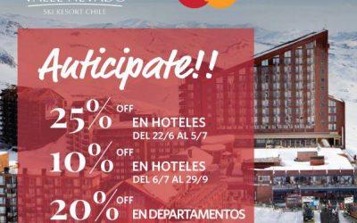Promo  #Mastercard Valle Nevado Ski Resort  Aprovechá con OTE SKI las mejores p…