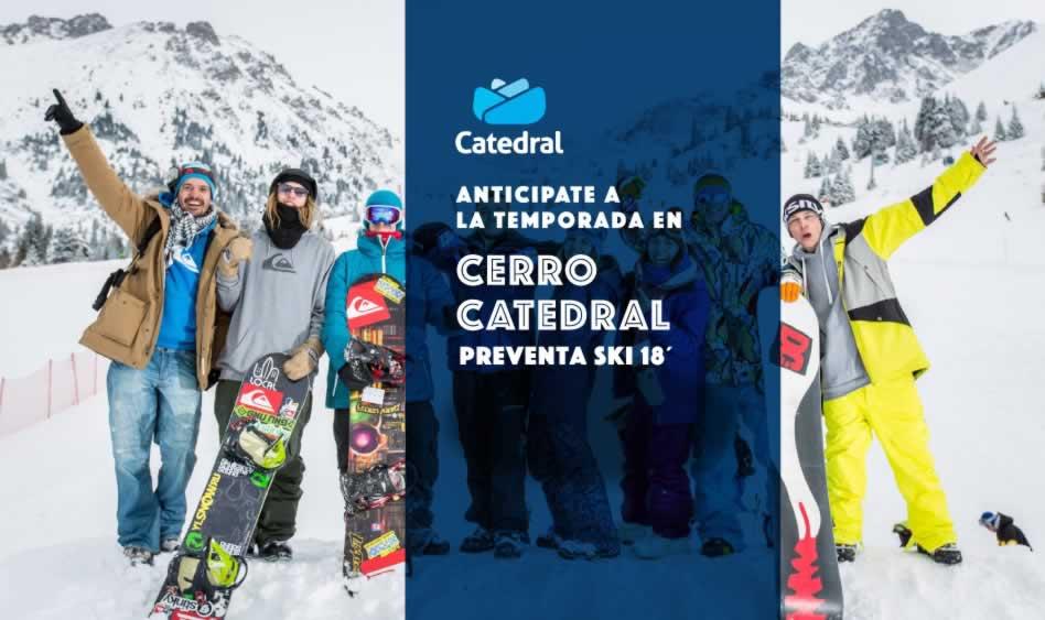 Preventa Cerro Catedral 2018