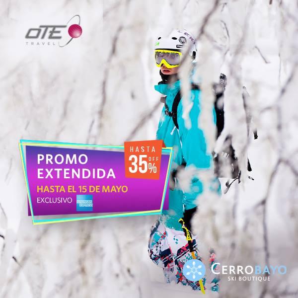 Cerro Bayo te ofrece un lugar único para tus vacaciones en familia! 35% de descu…