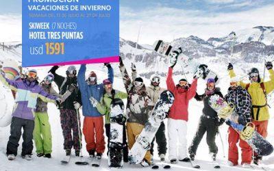 Valle Nevado – Vacaciones 2018 – Promo Argentina  30% OFF Apertura  25% OFF Vac…