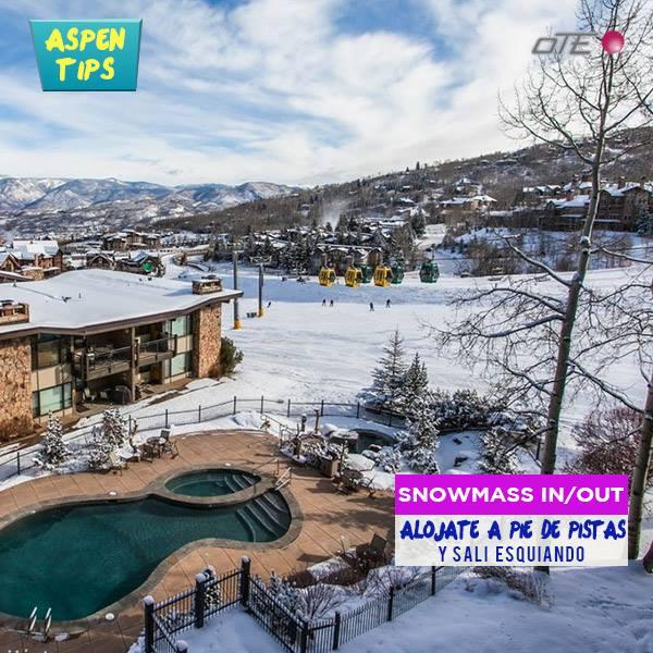 Snowmass Ski In – Ski Out  Si tenes planeado vacacionar en Aspen, y te gusta est…