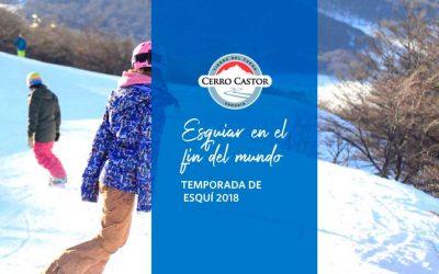 Cerro Castor, temporada esquí 2018