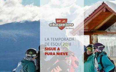 Chapelco, temporada esquí 2018