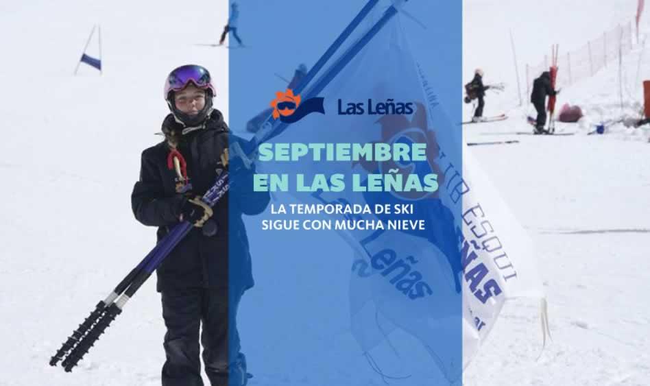 Septiembre en Las Leñas. Sigue a Pura Nieve.