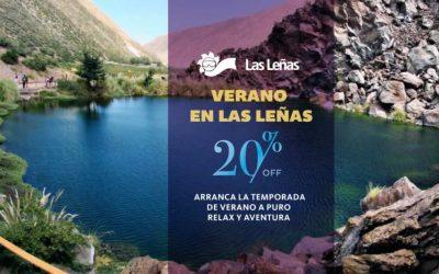 Verano en Las Leñas. 20% OFF