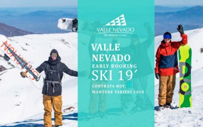 Valle Nevado Early Booking SKI 2019