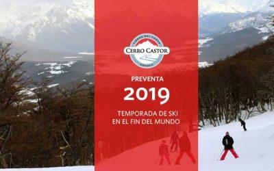 Cerro Castor – Preventa Temporada de Ski 2019