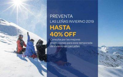 Preventa Las Leñas Invierno 2019 – Hasta 40% OFF
