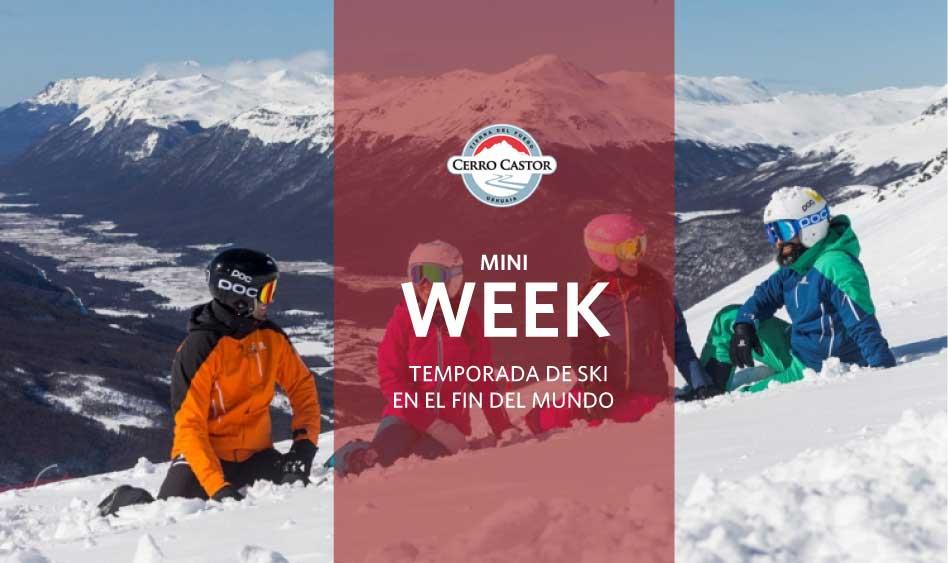 Cerro Castor Mini Week en el Fin del Mundo