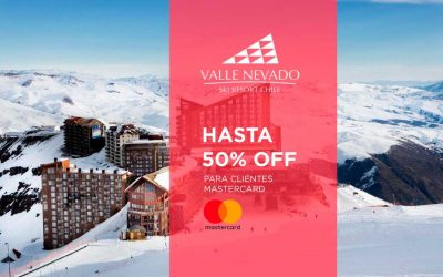 Valle Nevado 2019, hasta 50% off