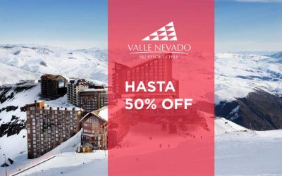Ski Chile | Valle Nevado hasta 50% off.