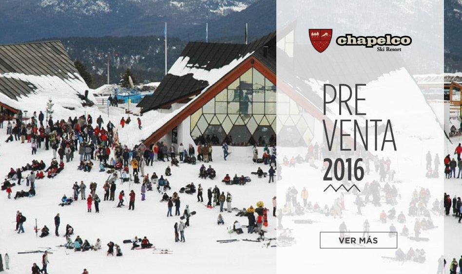 Chapelco Preventa Ski 2016